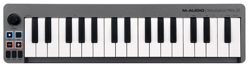 clavier midi M-Audio Keystation Mini 32 II
